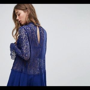 Free People Dresses - Free People Tell Tale Lace Dress Dupe